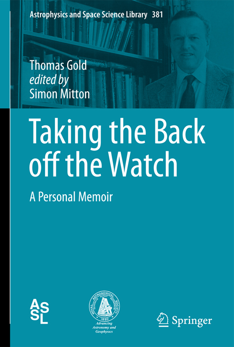 Thomas Gold autobiography edited by Simon Mitton book
