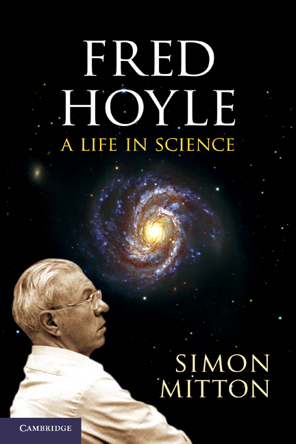 Fred Hoyle astronomer book jacket 2011